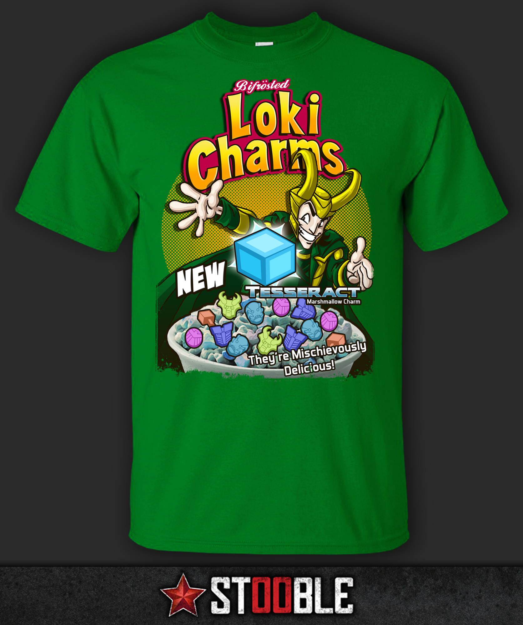 Loki Charms T-Shirt - New - Direct from Manufacturer