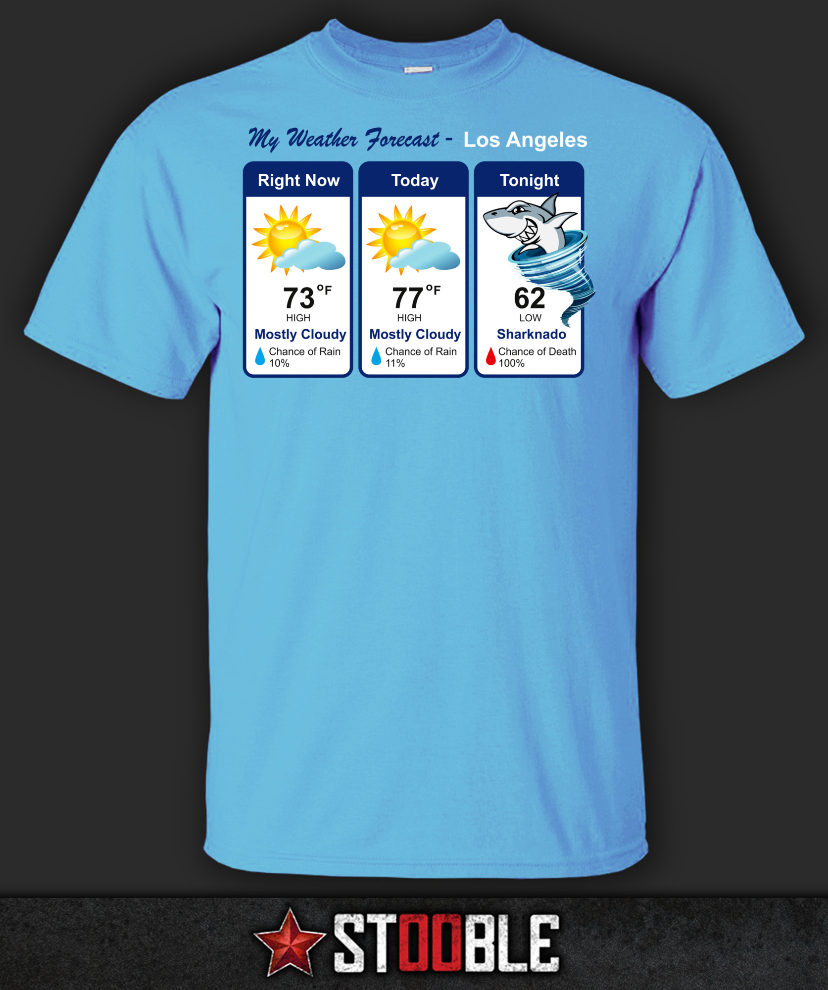 Sharknado-Weather-T-Shirt-New-Direct-from-Manufacturer
