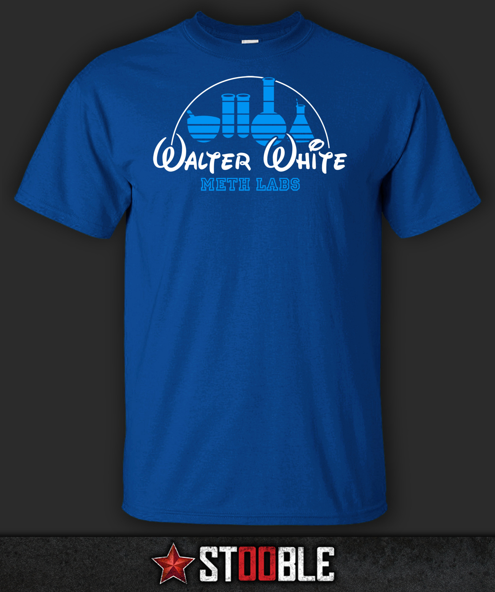 Walter White Meth Labs T-Shirt - New - Direct from Manufacturer