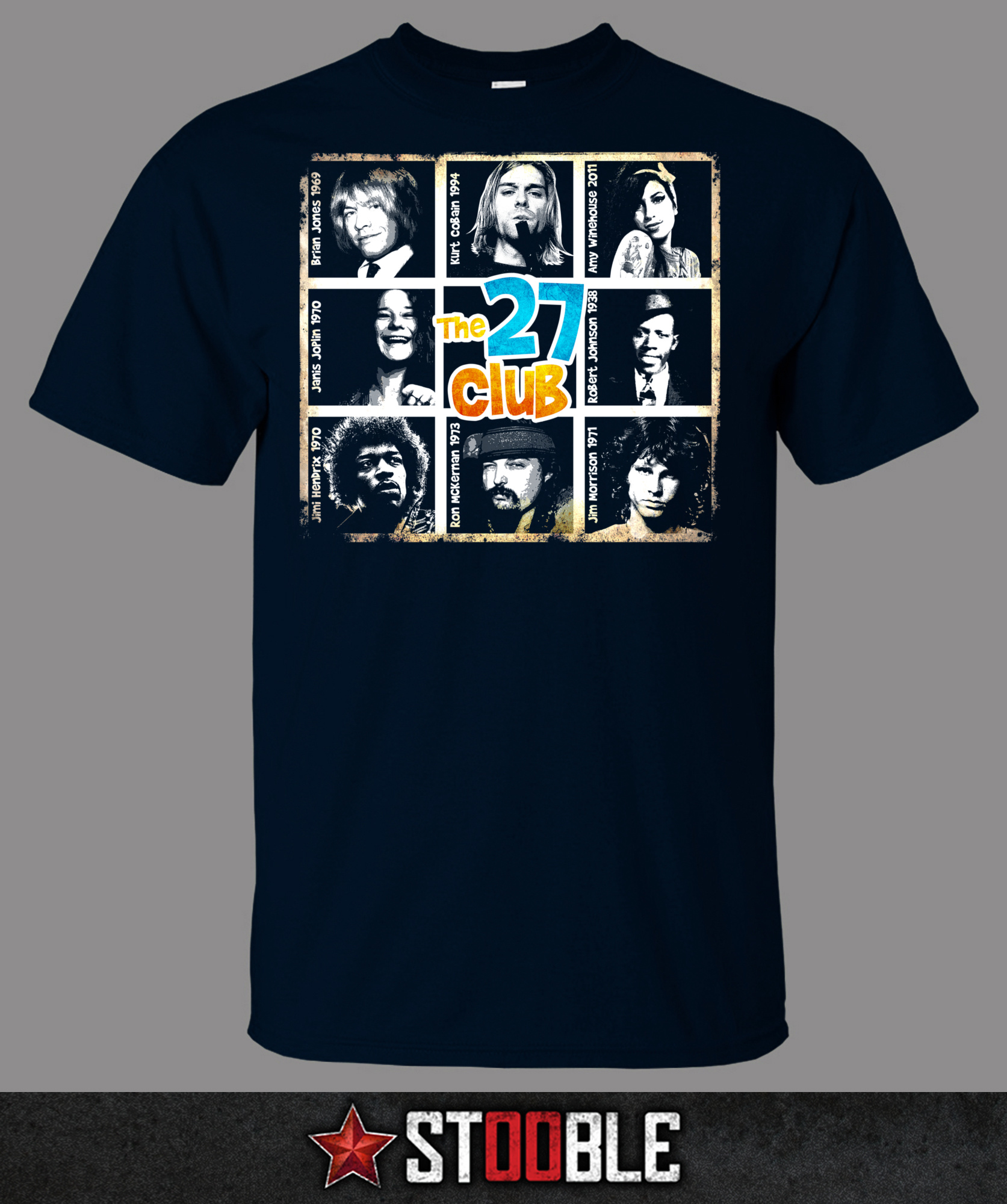 the 27 club t shirt new direct from manufacturer