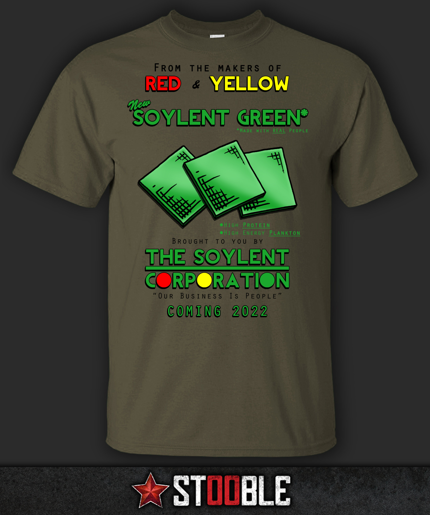 Details about  Soylent Green T-Shirt - Direct from Stockist