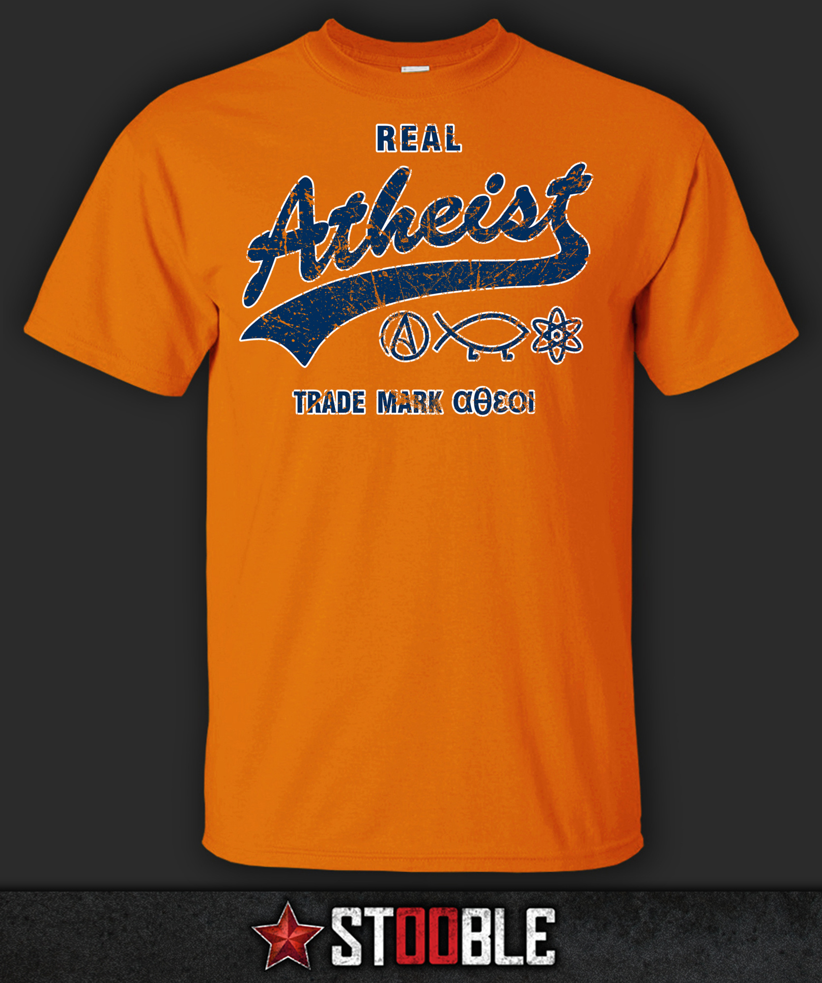 Real Atheist T-Shirt - New - Direct from Manufacturer