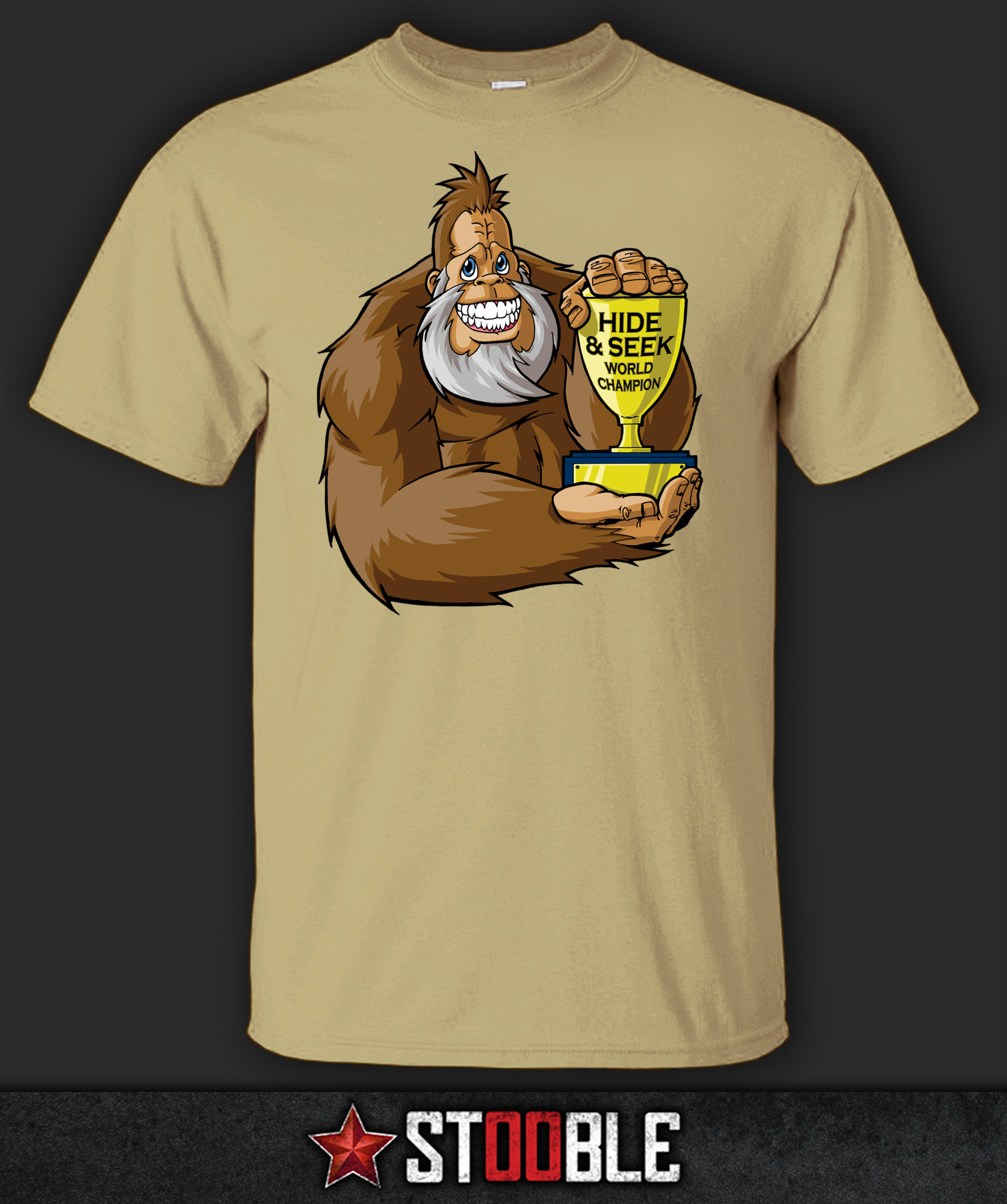 Sasquatch Hide And Seek T Shirt Direct From Stockist