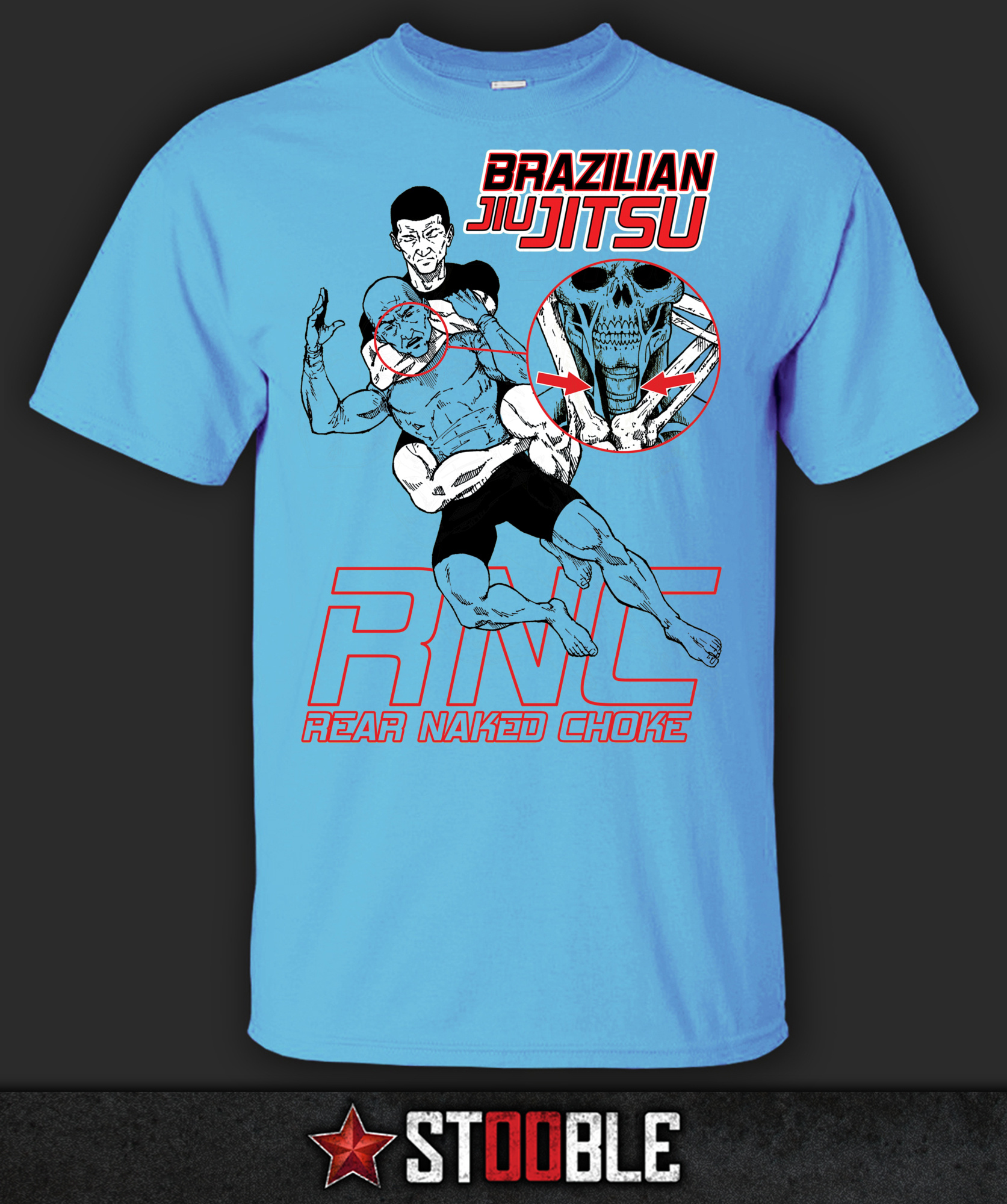 BJJ Brazilian Jiu Jitsu Choke T-Shirt - New - Direct from Manufacturer