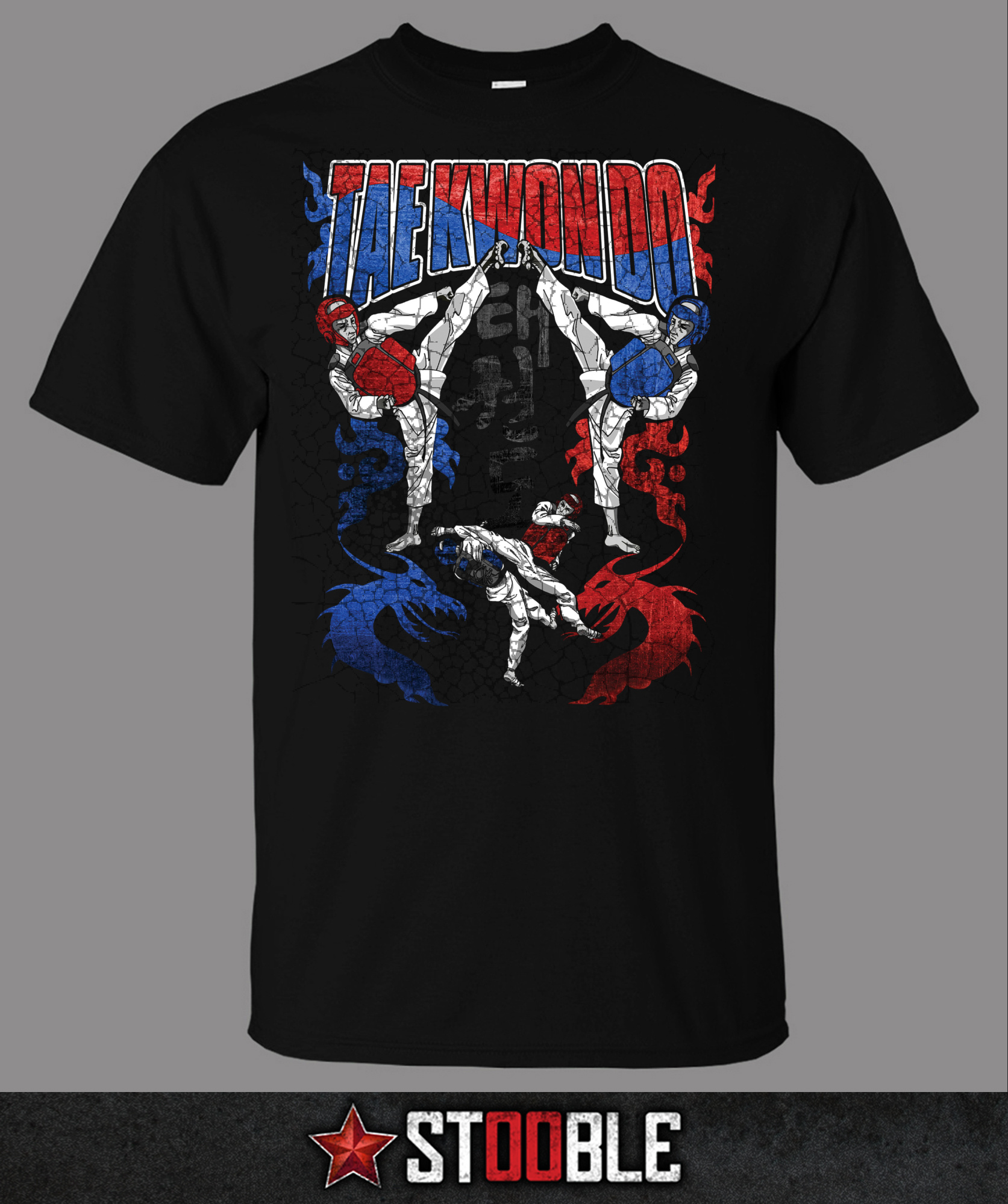 Tae Kwon Do T Shirt Direct From Stockist