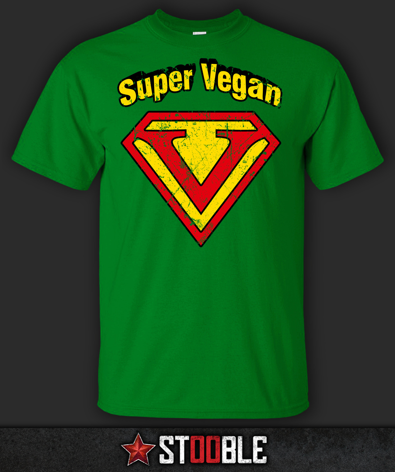 Super vegan t shirt direct from stockist ebay for Direct from the designers