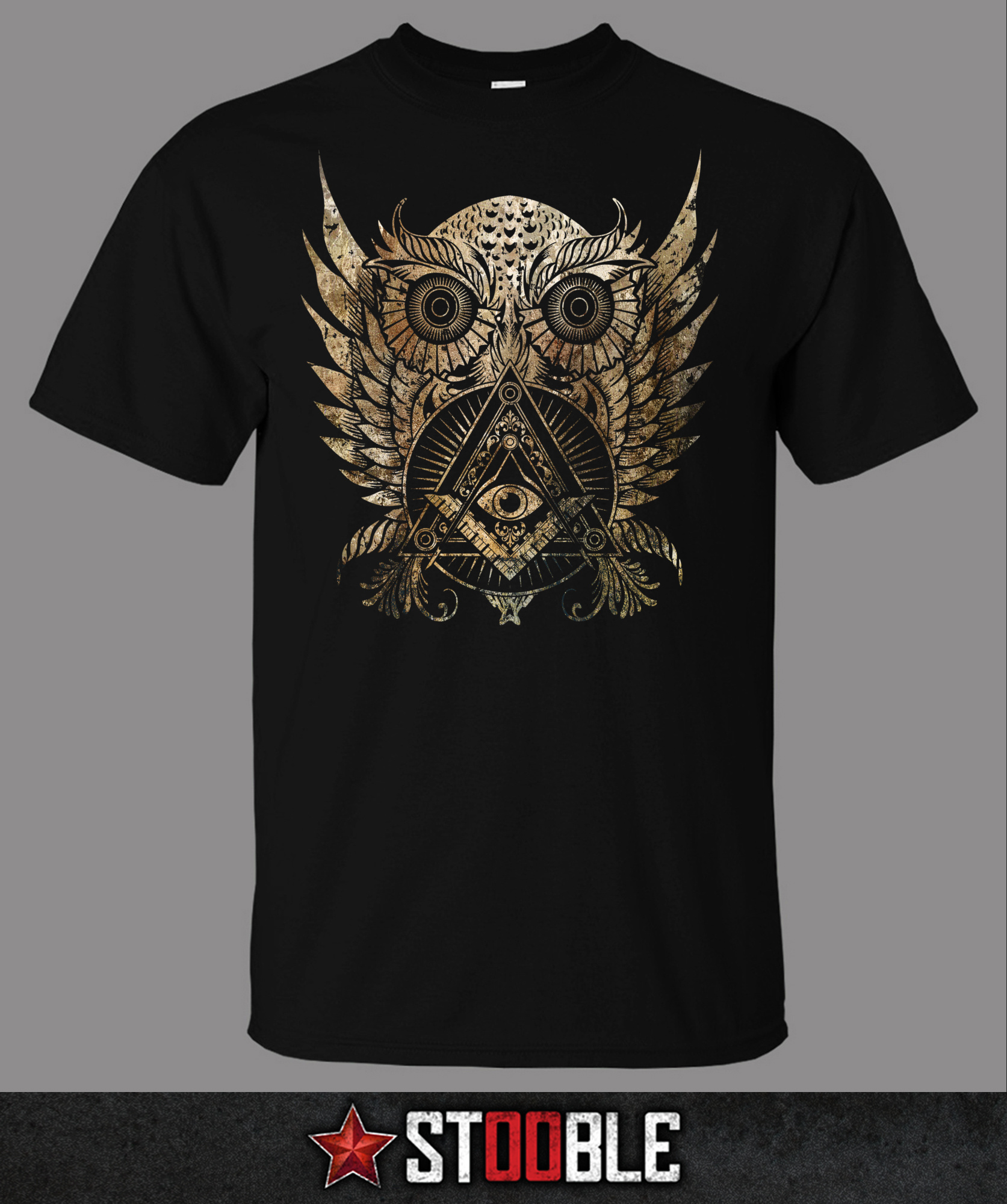 Owl illuminati t shirt new direct from manufacturer ebay T shirt with owl design