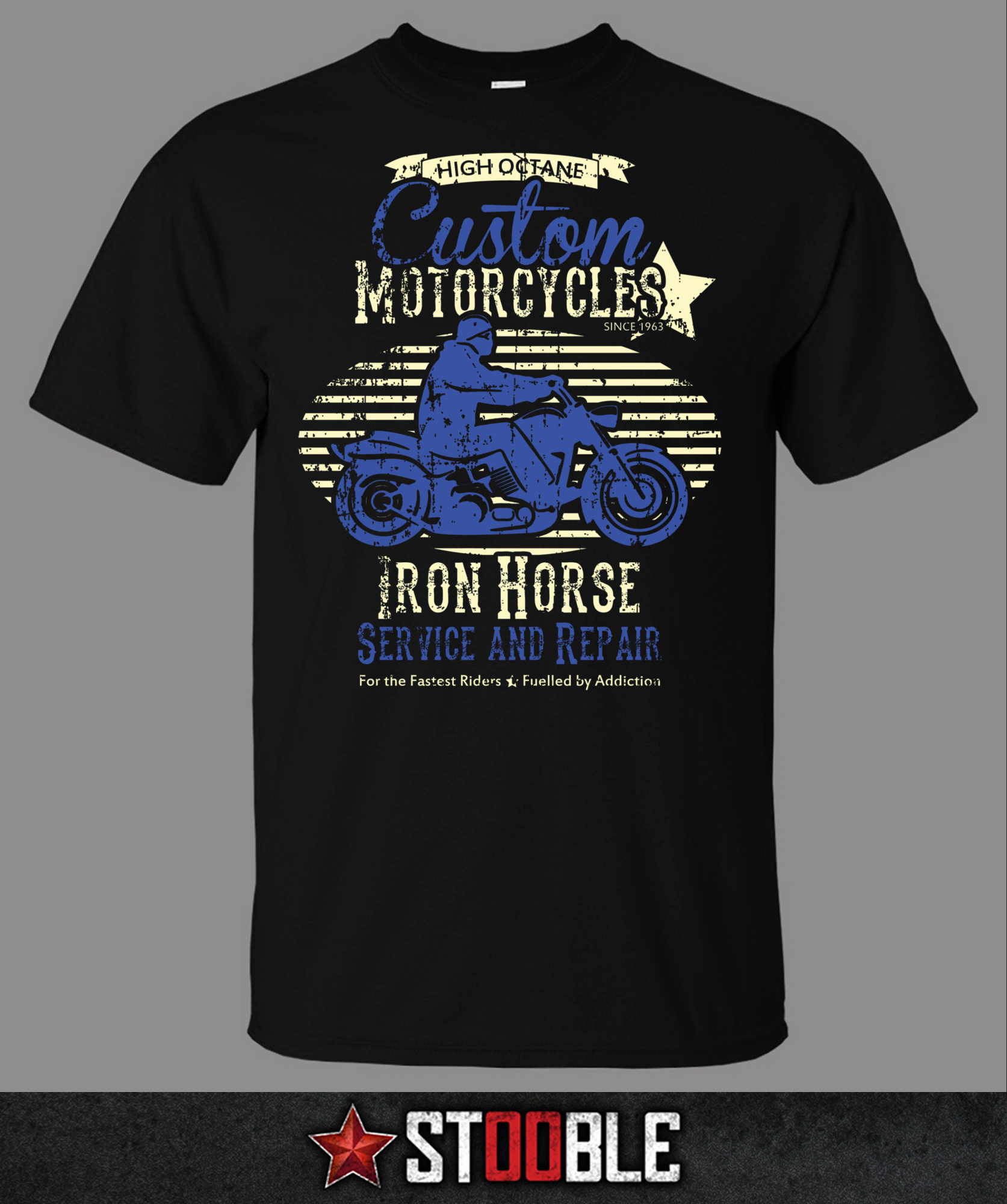 Custom motorcycles bike t shirt direct from stockist ebay for How to design and sell t shirts