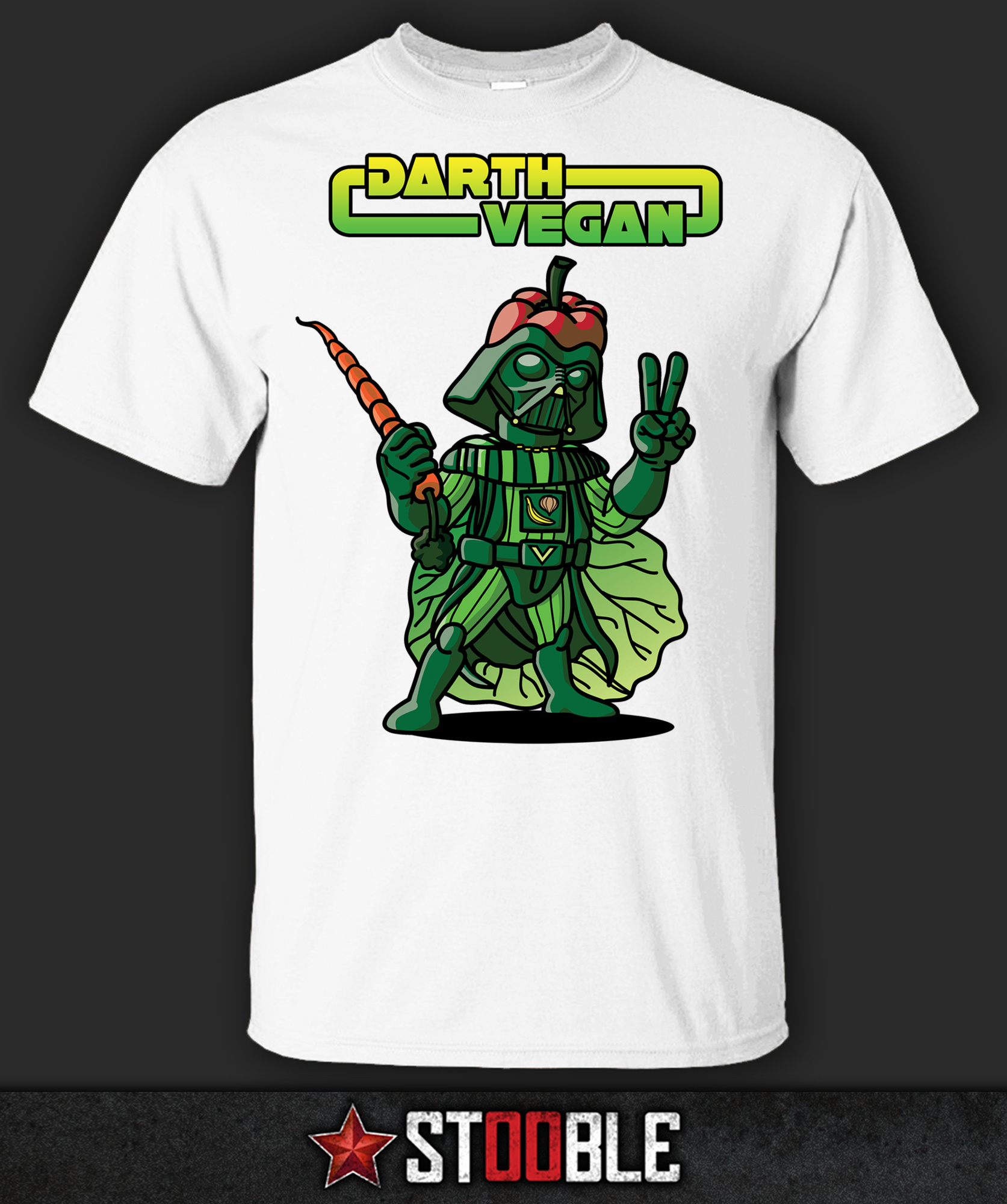 Darth vegan t shirt direct from stockist ebay for Direct from the designers