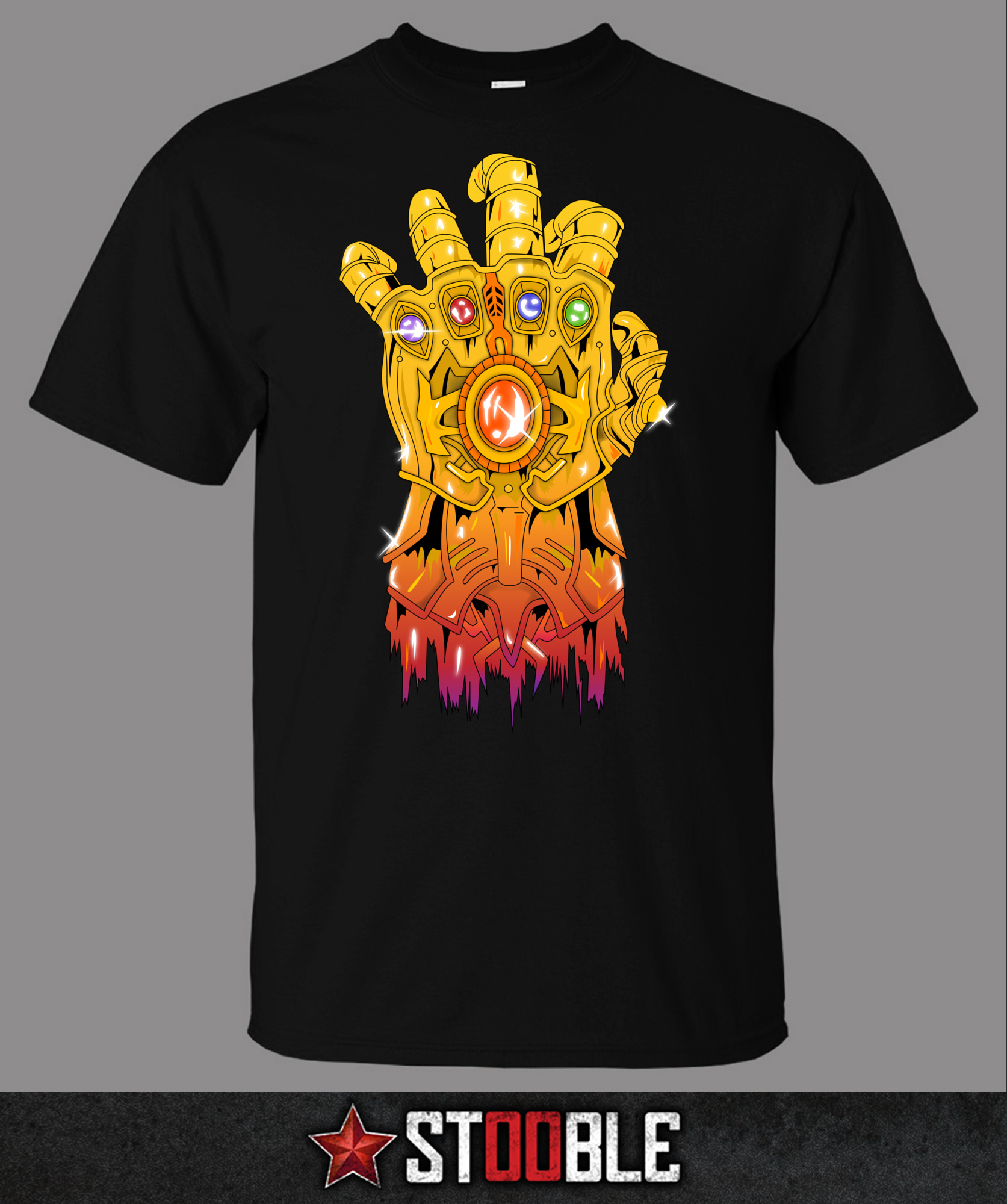 Thanos hand t shirt direct from stockist ebay for Direct from the designers
