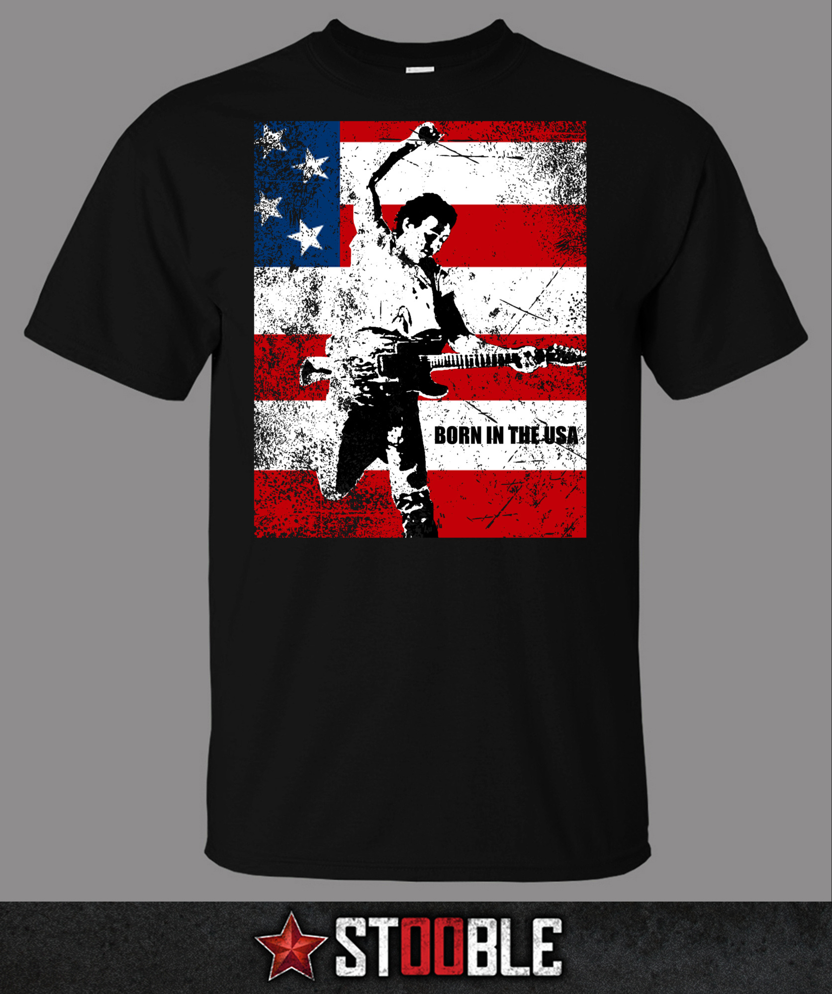 Springsteen Born In The Usa T Shirt Direct From Stockist