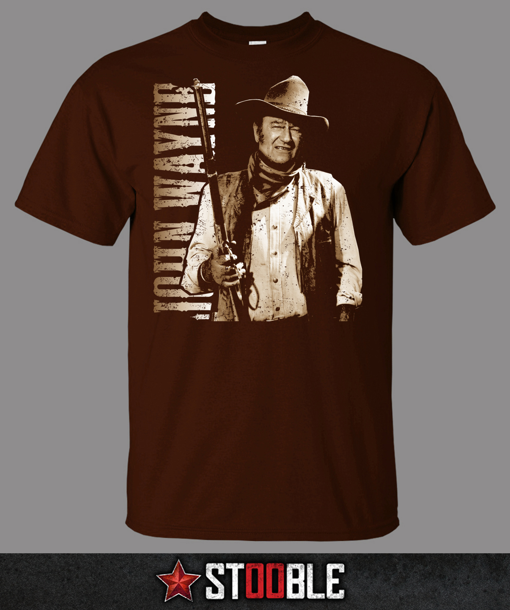 John wayne cowboy t shirt direct from stockist ebay for Direct from the designers