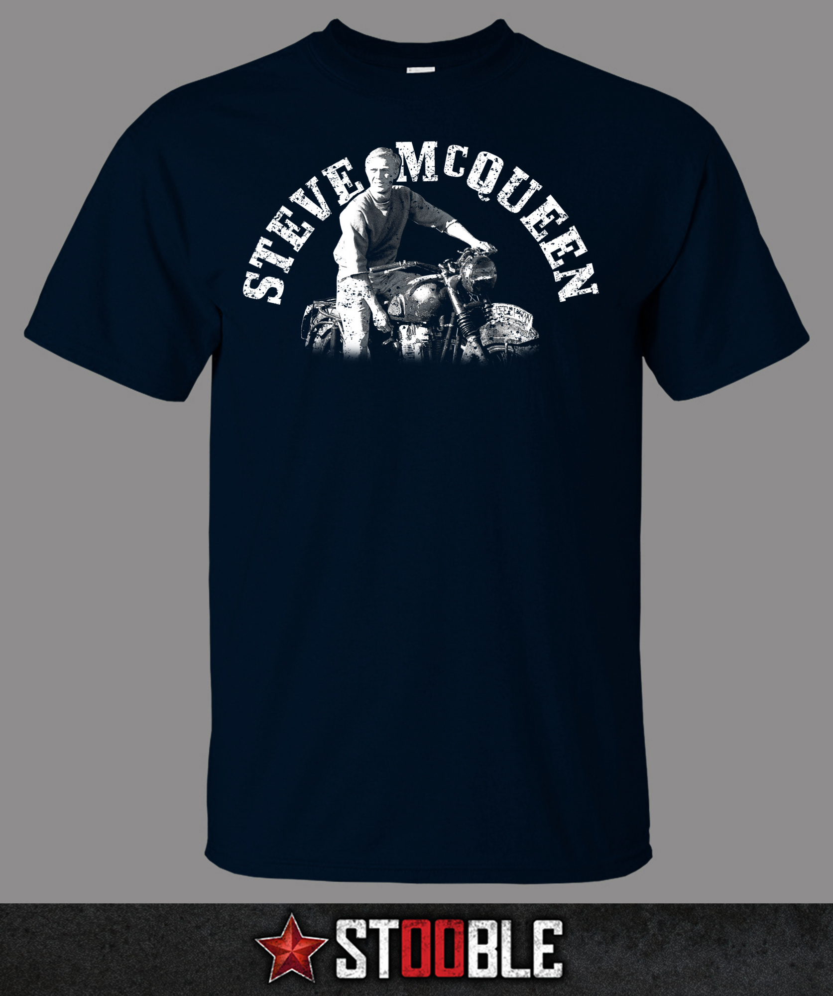 steve mcqueen motorbike t shirt direct from stockist. Black Bedroom Furniture Sets. Home Design Ideas