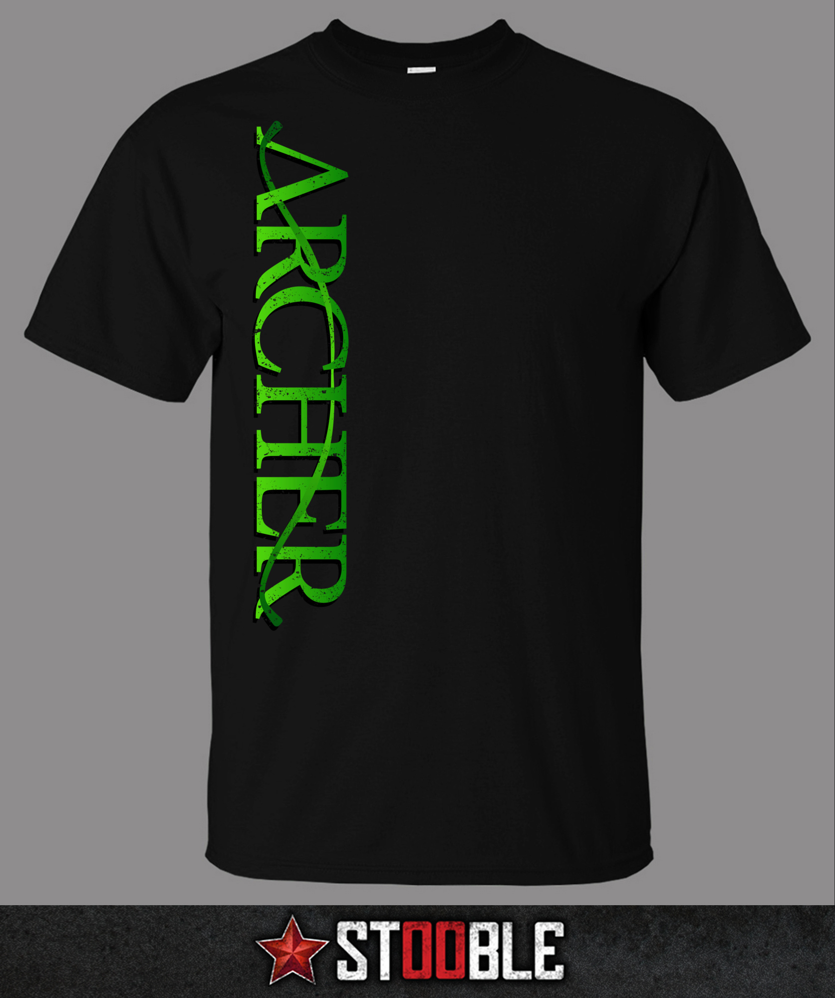 Green archery t shirt direct from stockist ebay for Direct from the designers